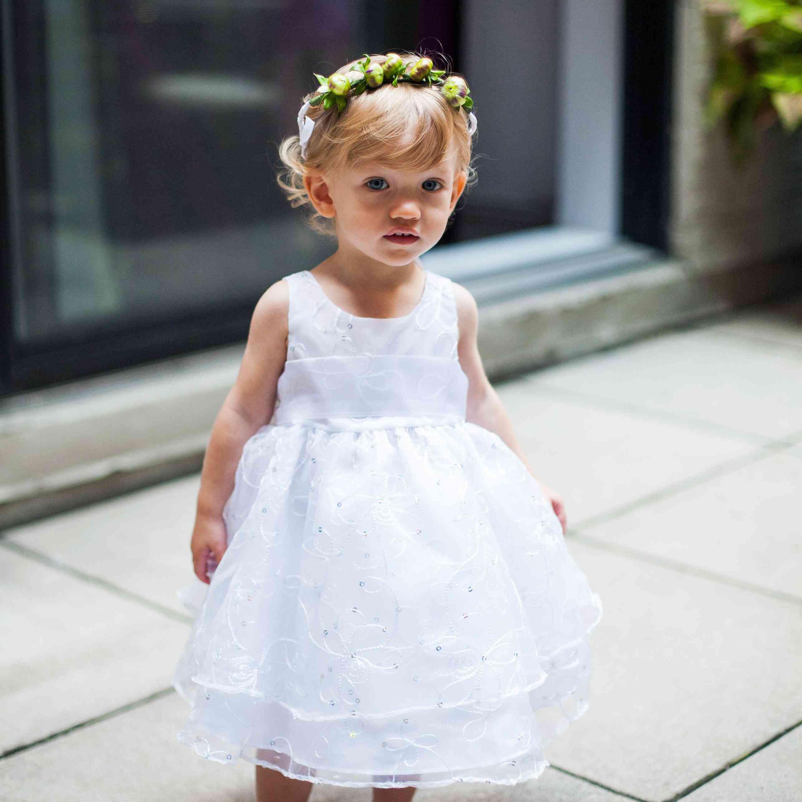 Flower Girl At Wedding: Flower Girl And Ring Bearer 101: The Basics Of Your