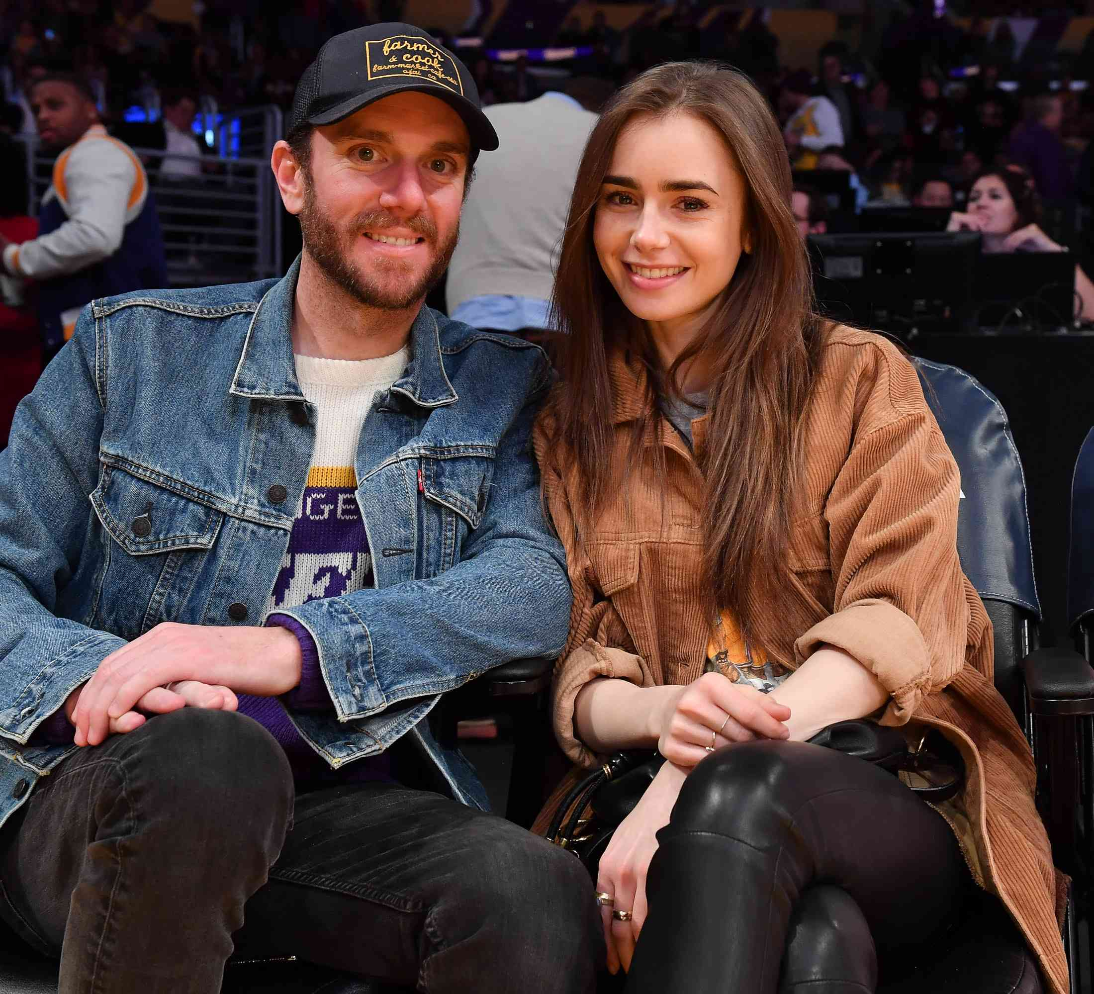 charlie mcdowell and lily collins