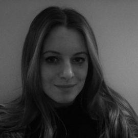 Lucy Draper headshot in black and white