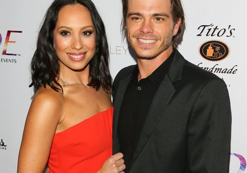 Cheryl Burke (left) and Matthew Lawrence