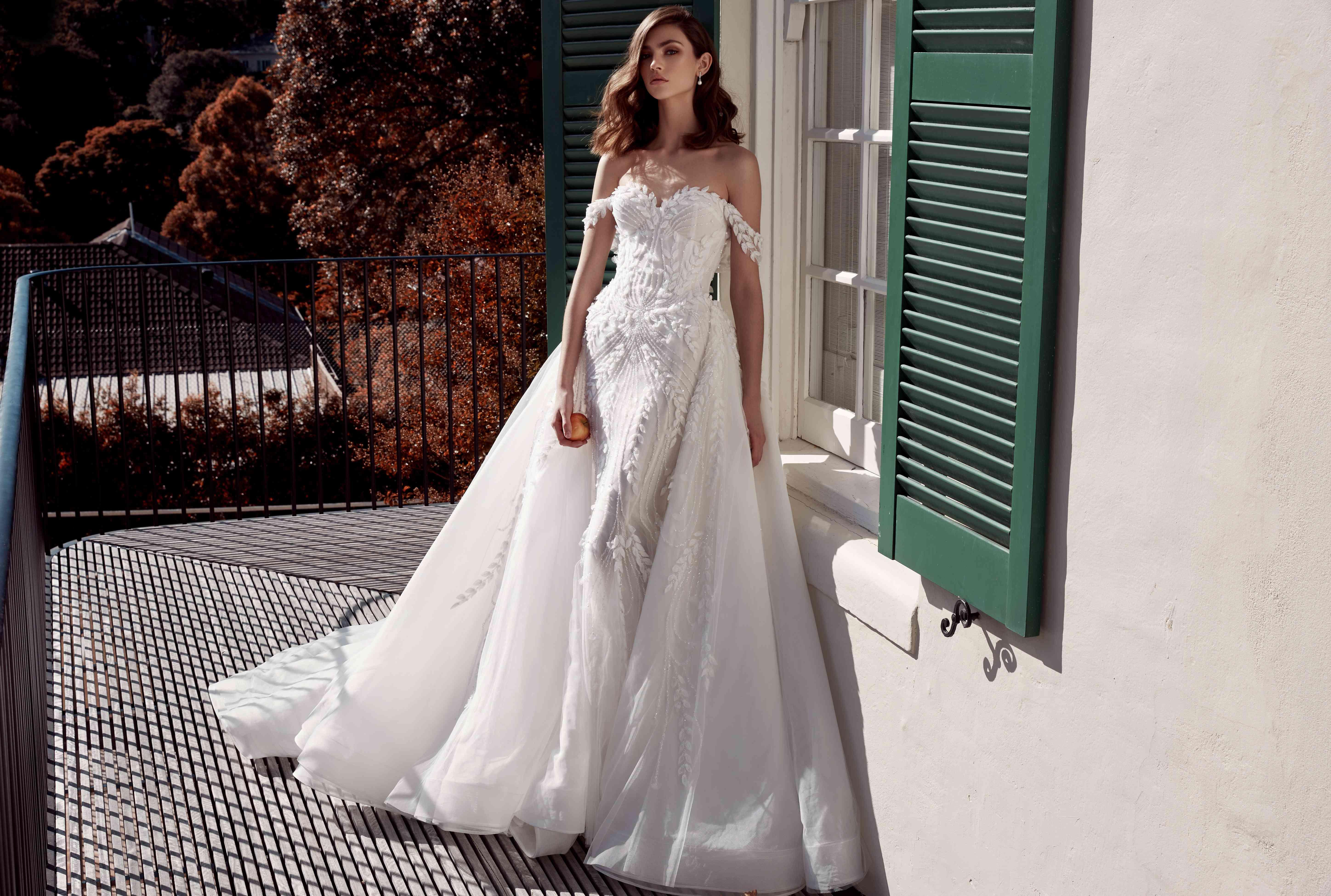 Leah Da Gloria Couture Bridal & Wedding Dress Collection Fall 20
