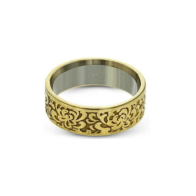 Simon G. Textured Men's Ring
