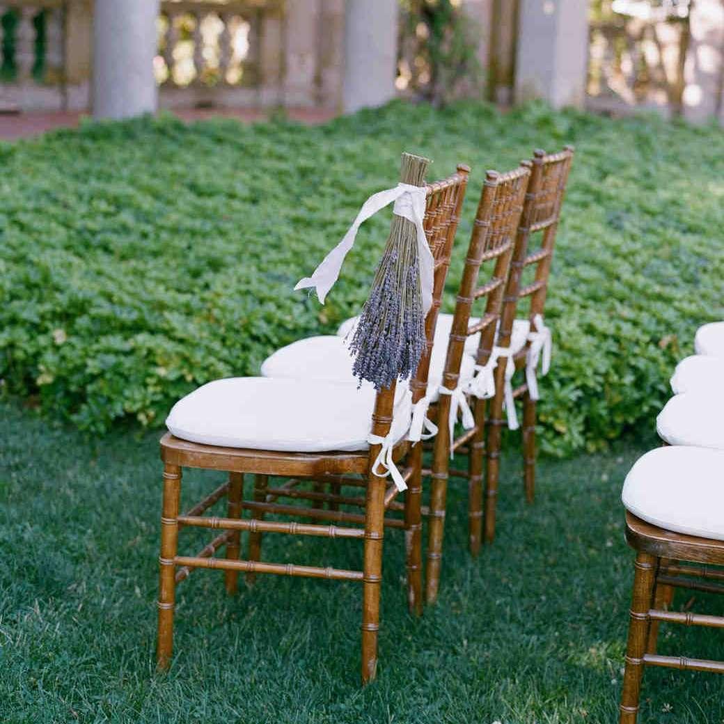 Lavender Chair Decorations