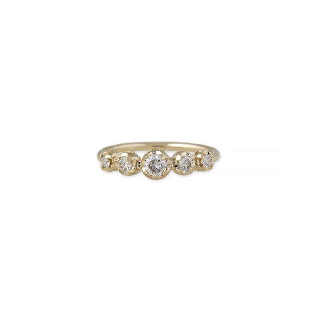 Jacquie Aiche 5 Diamond Kate Ring