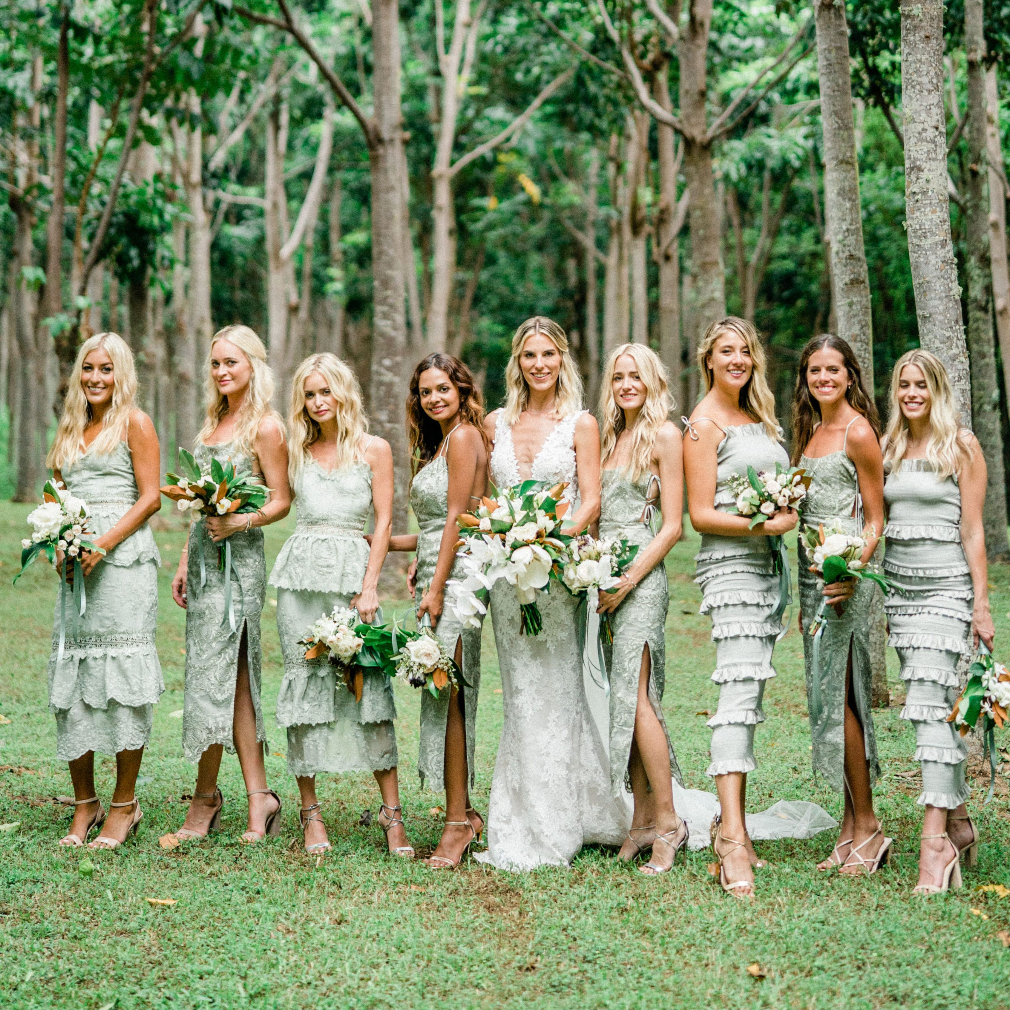 7 Best Mint Bridesmaid Dresses of 7