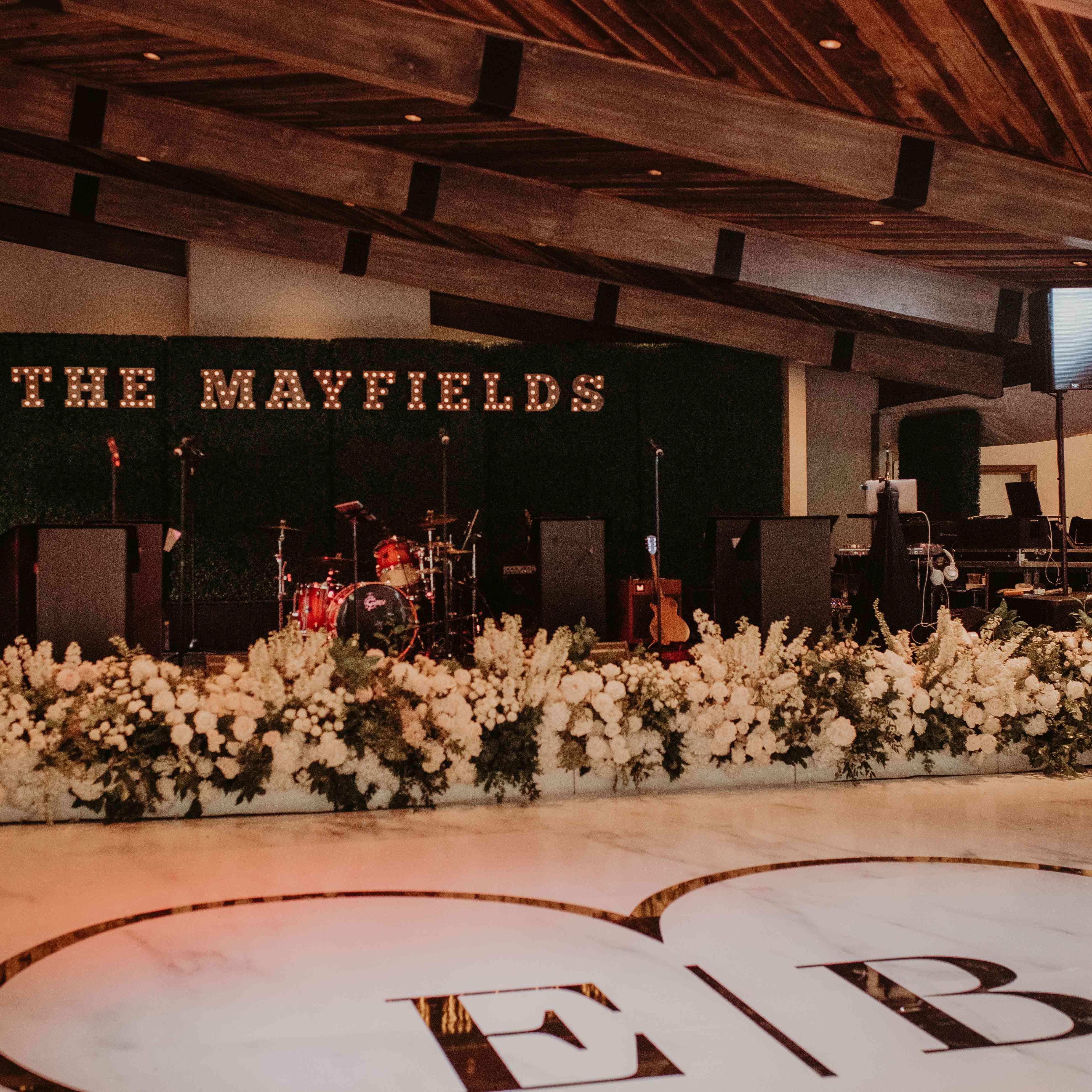 Baker Mayfield Wedding, dancefloor