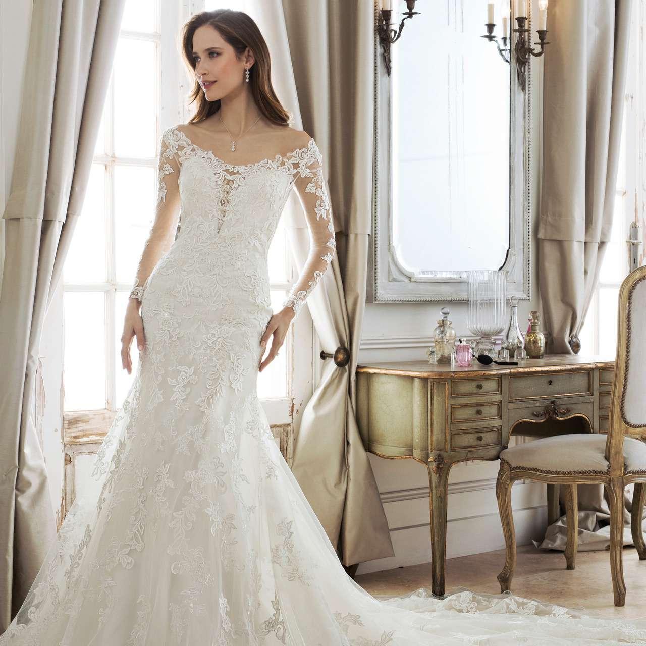 подписанные фото свадебных платьев