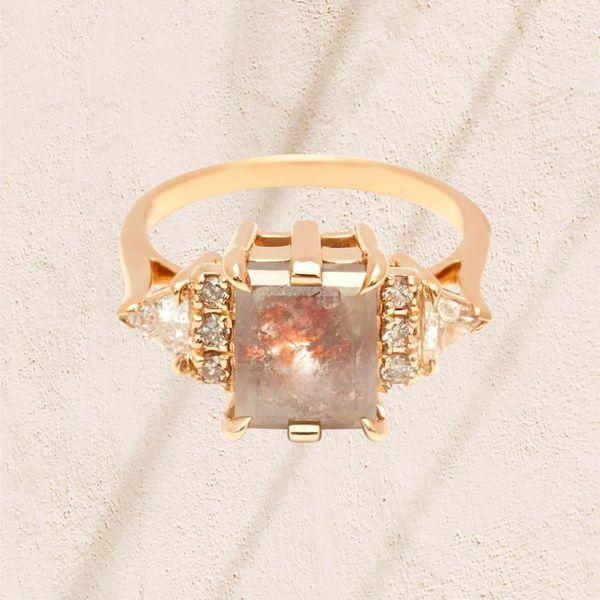 Raw Diamond Rings