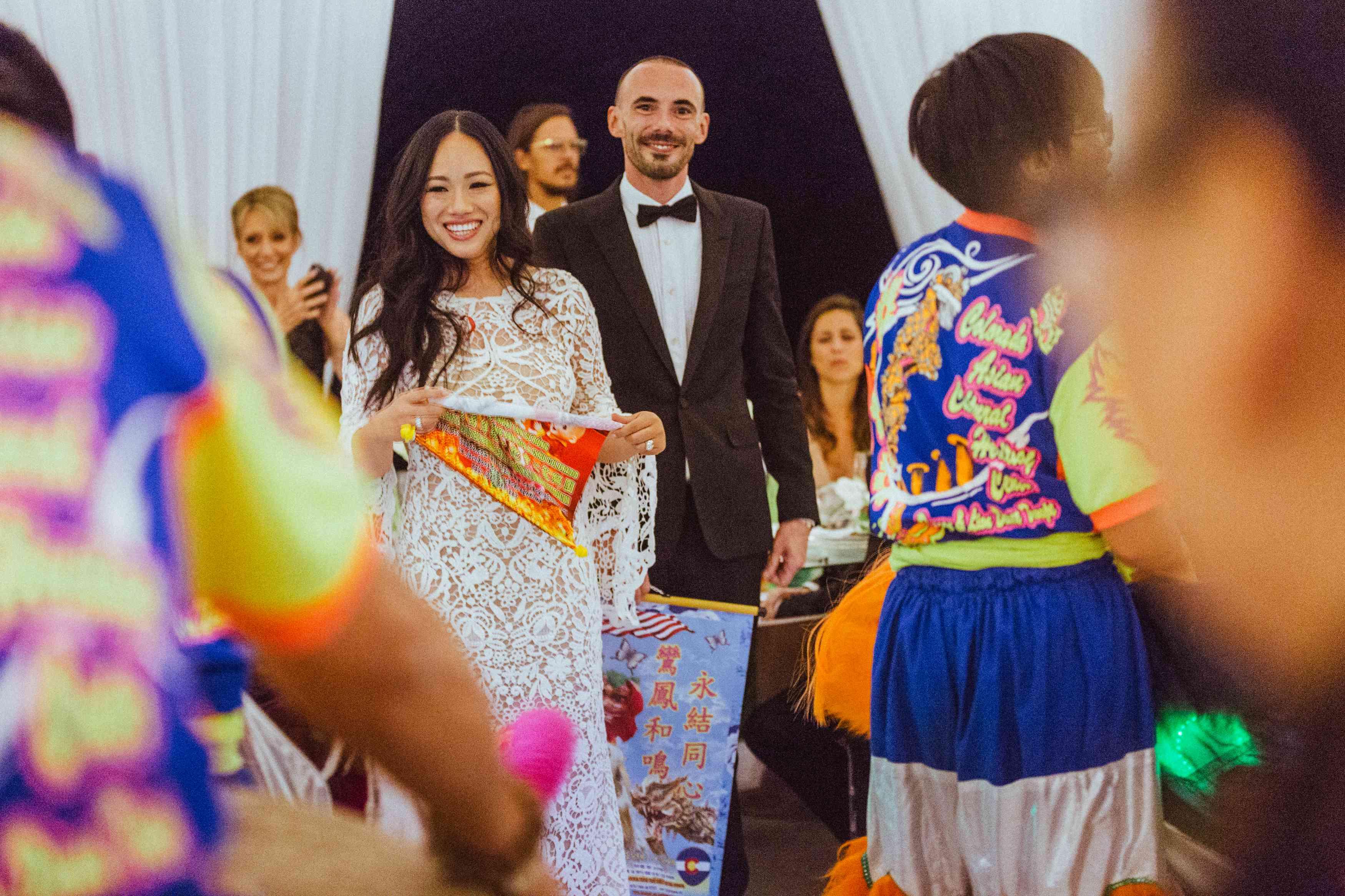 <p>Bride at reception</p><br><br>