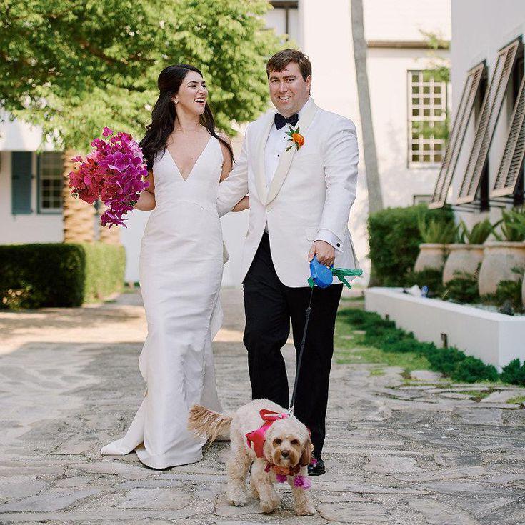 A Super Colorful Beachfront Wedding In Florida