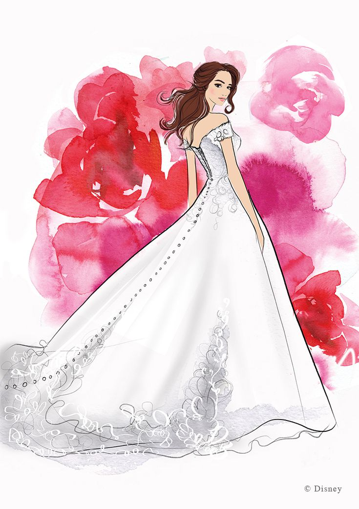 These Disney Princess Inspired Wedding Dresses Are Made For A