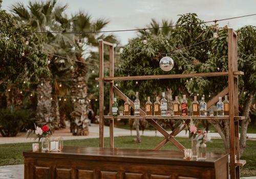 bar at wedding