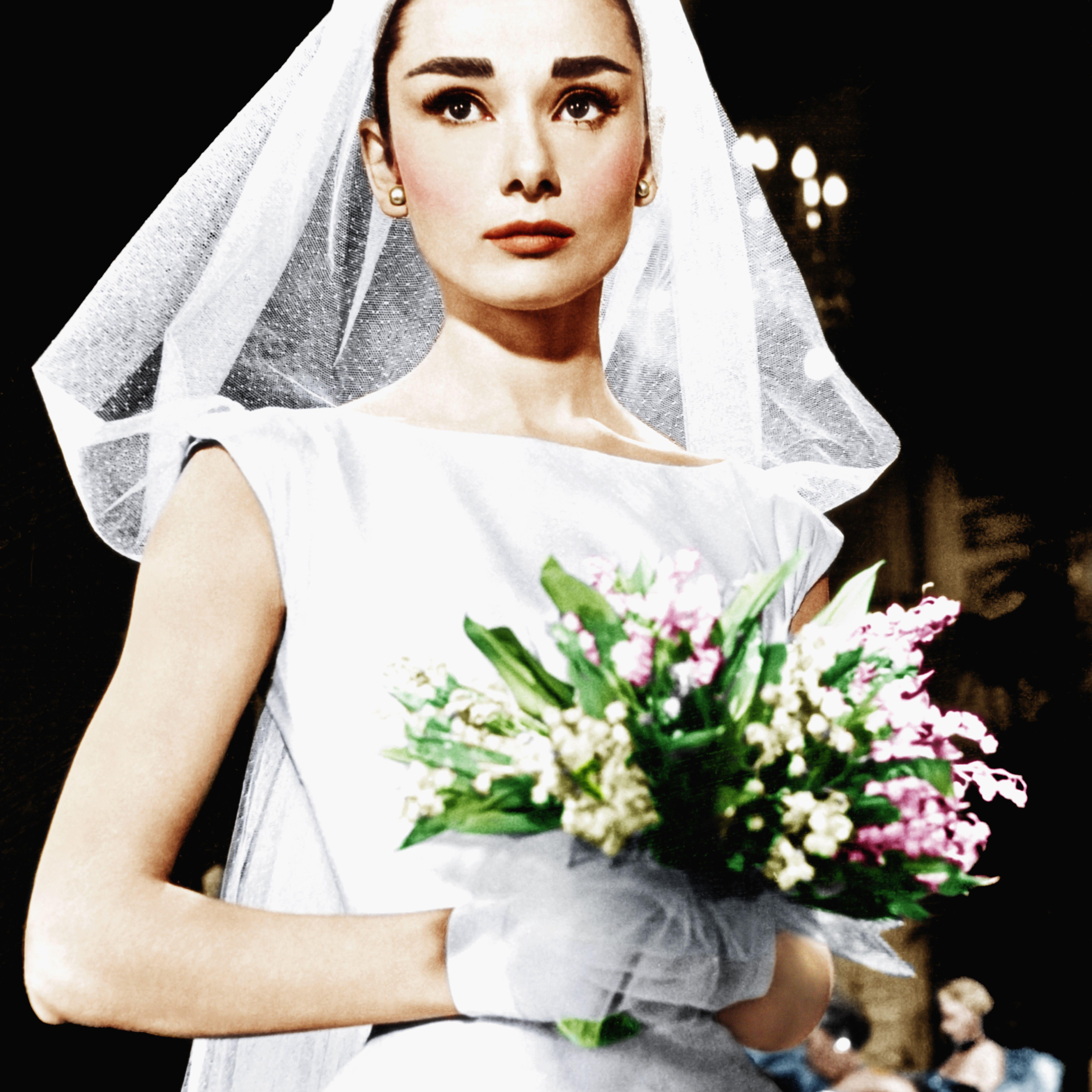 Tbt Audrey Hepburn S 3 Wedding Dresses