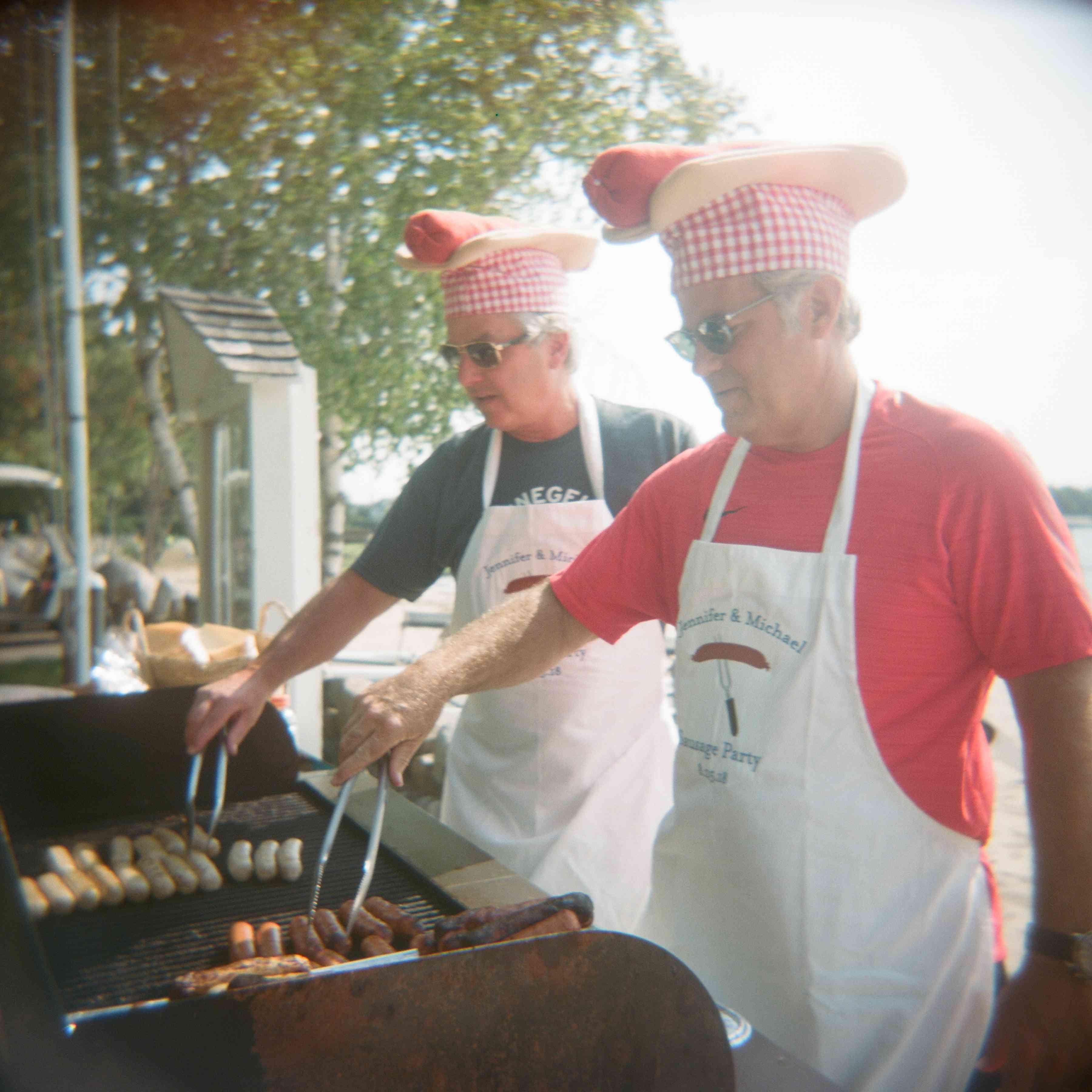 barbecue wedding pre party
