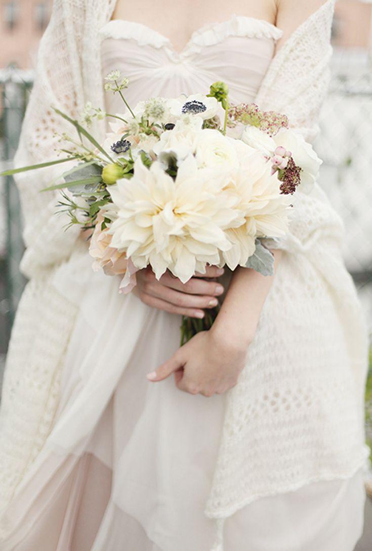 31 Knockout Dahlia Wedding Bouquets