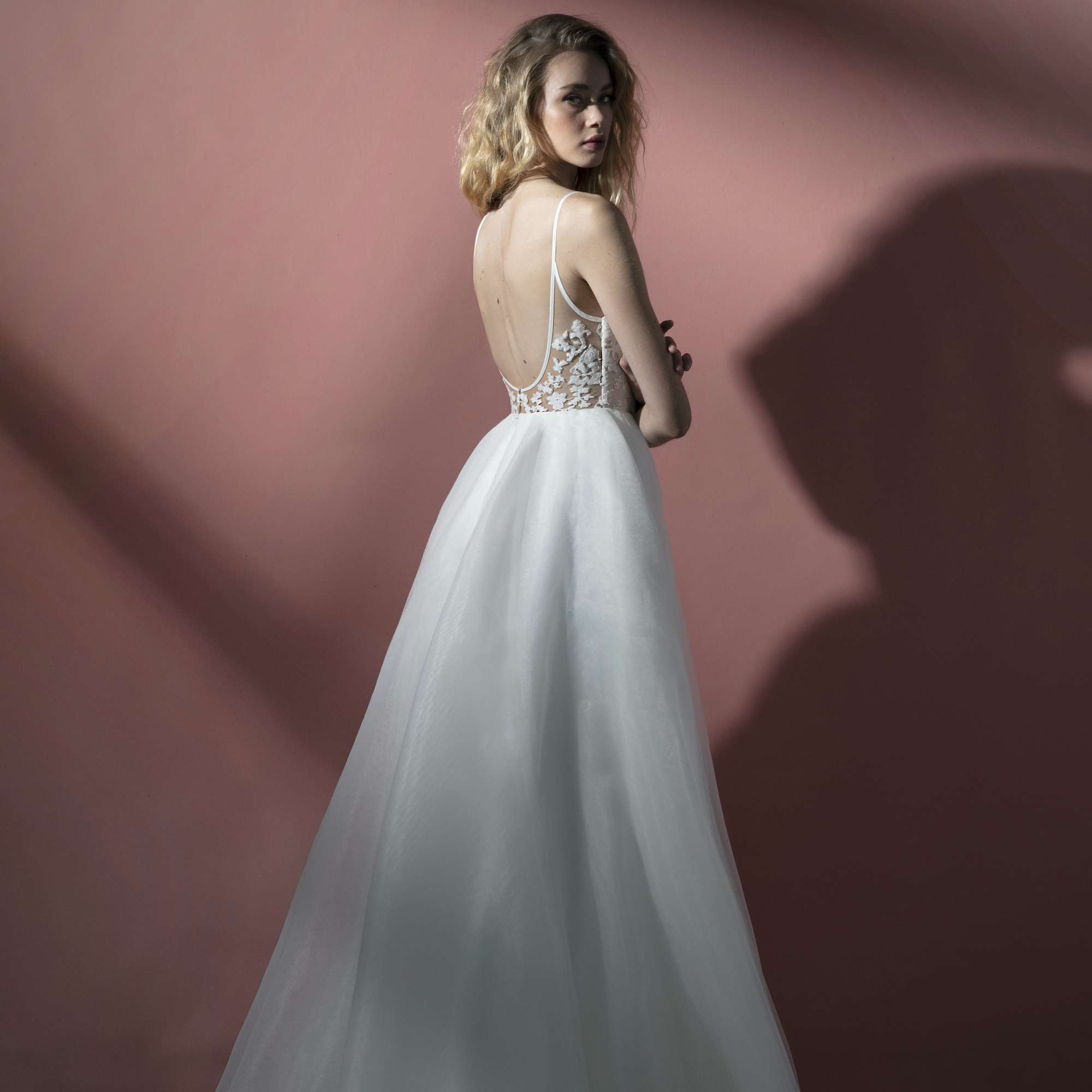 Deja low back wedding dress