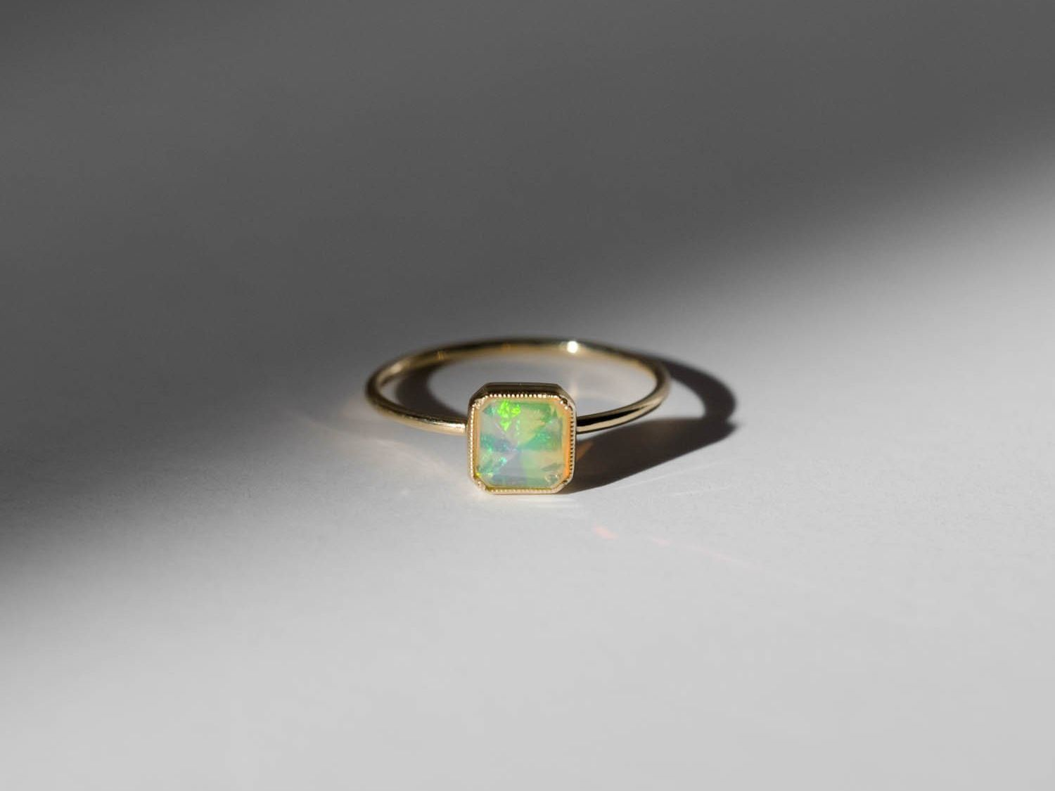 Opal Wedding Band.55 Opal Engagement Rings That Are Beyond Chic