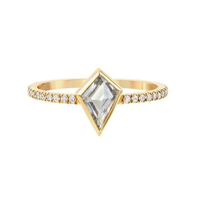 Era Jewelry Mosaic Stack Ring With Diamonds