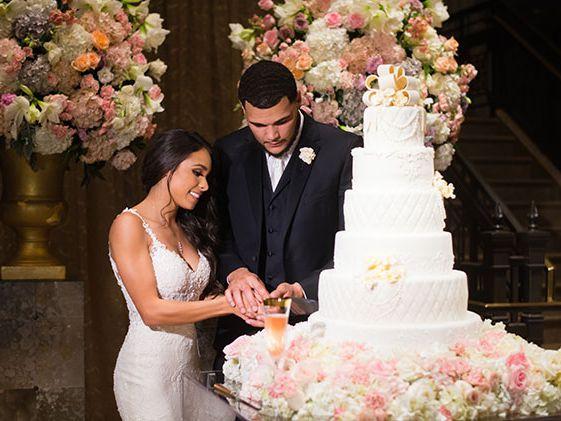 Exclusive Go Inside Nfl Player Mike Evans Elegant Wedding In Houston Texas