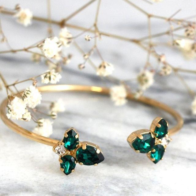 iloniti Swarovski Emerald Green Bracelet