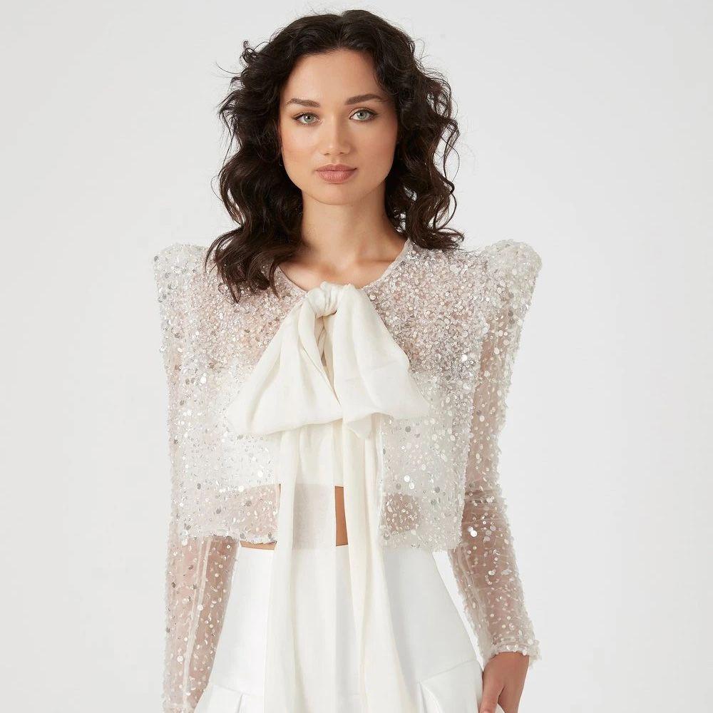 sparkly coat