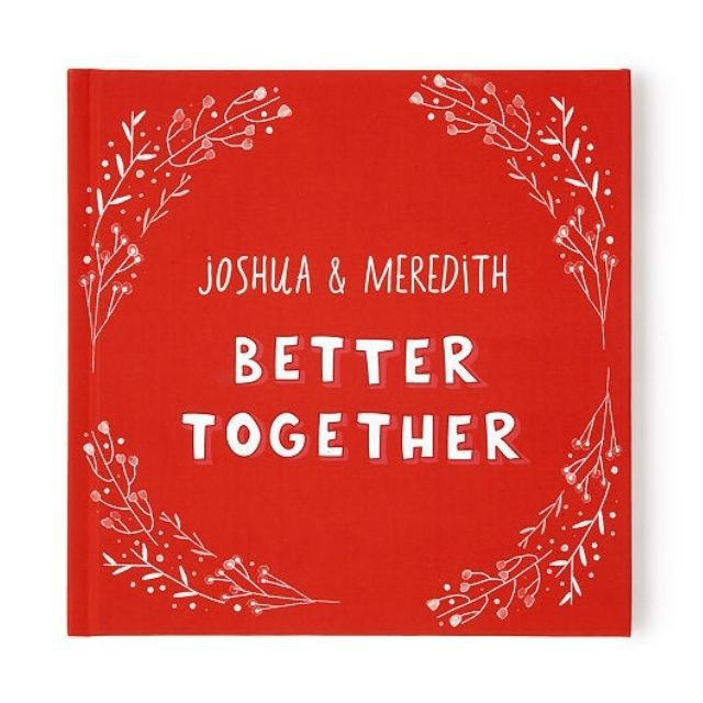 Uncommon Goods Better Together Personalized Book of Love