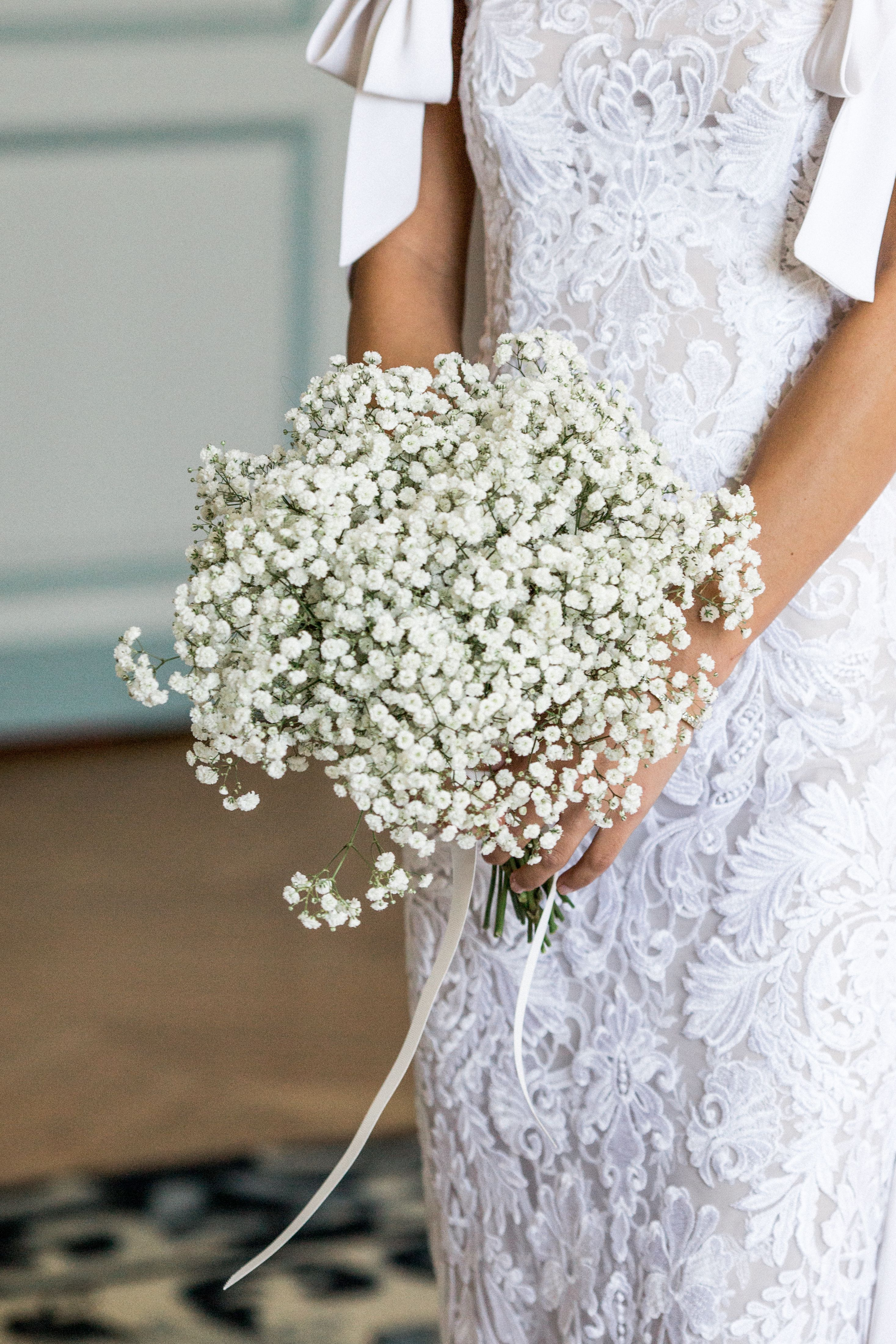 Trend Alert Baby S Breath Wedding Flowers