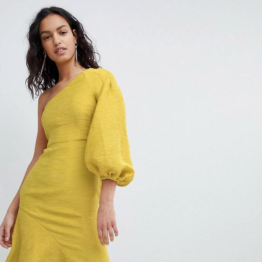 40 One Shoulder Wedding Guest Dresses That Will Wow