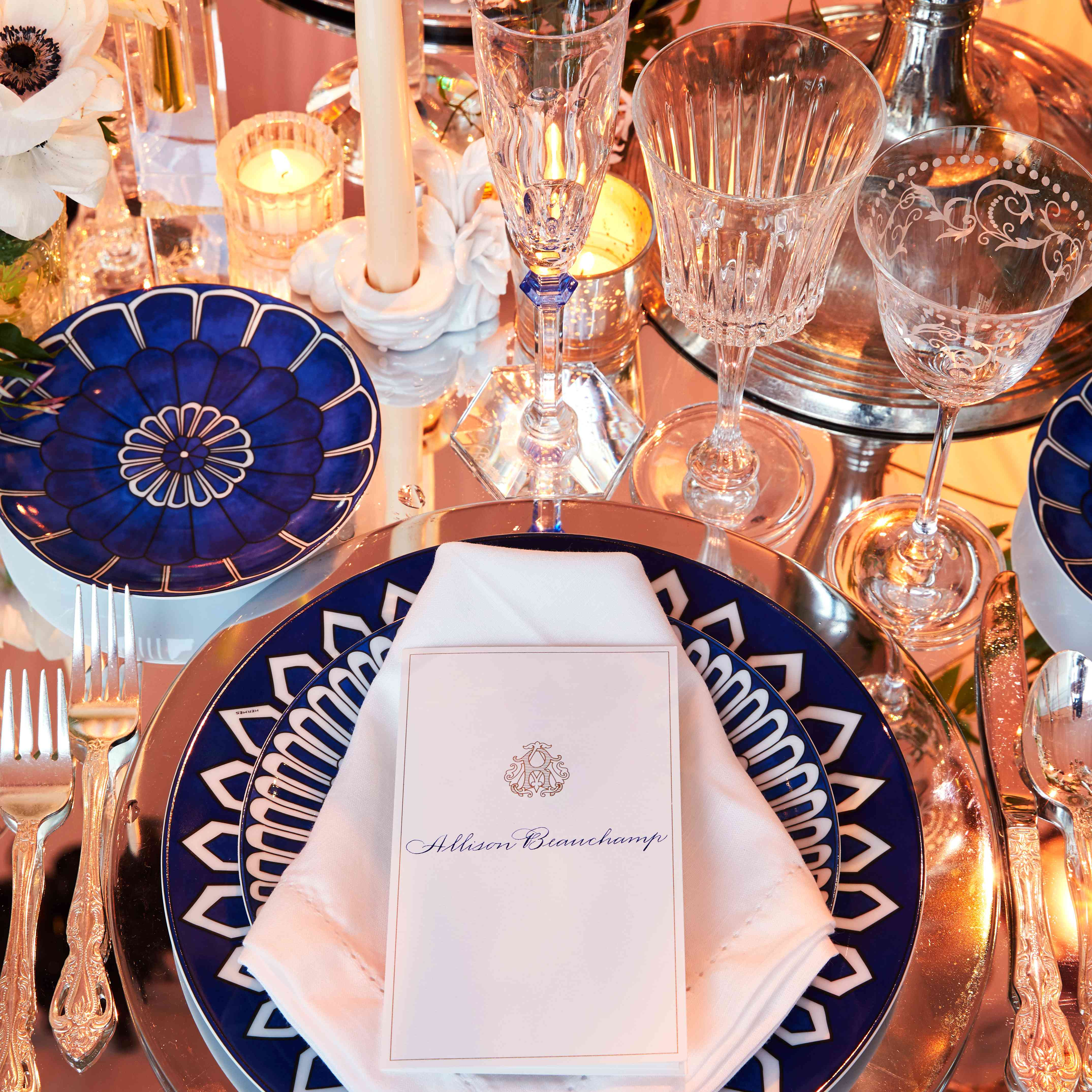 Hermes place setting