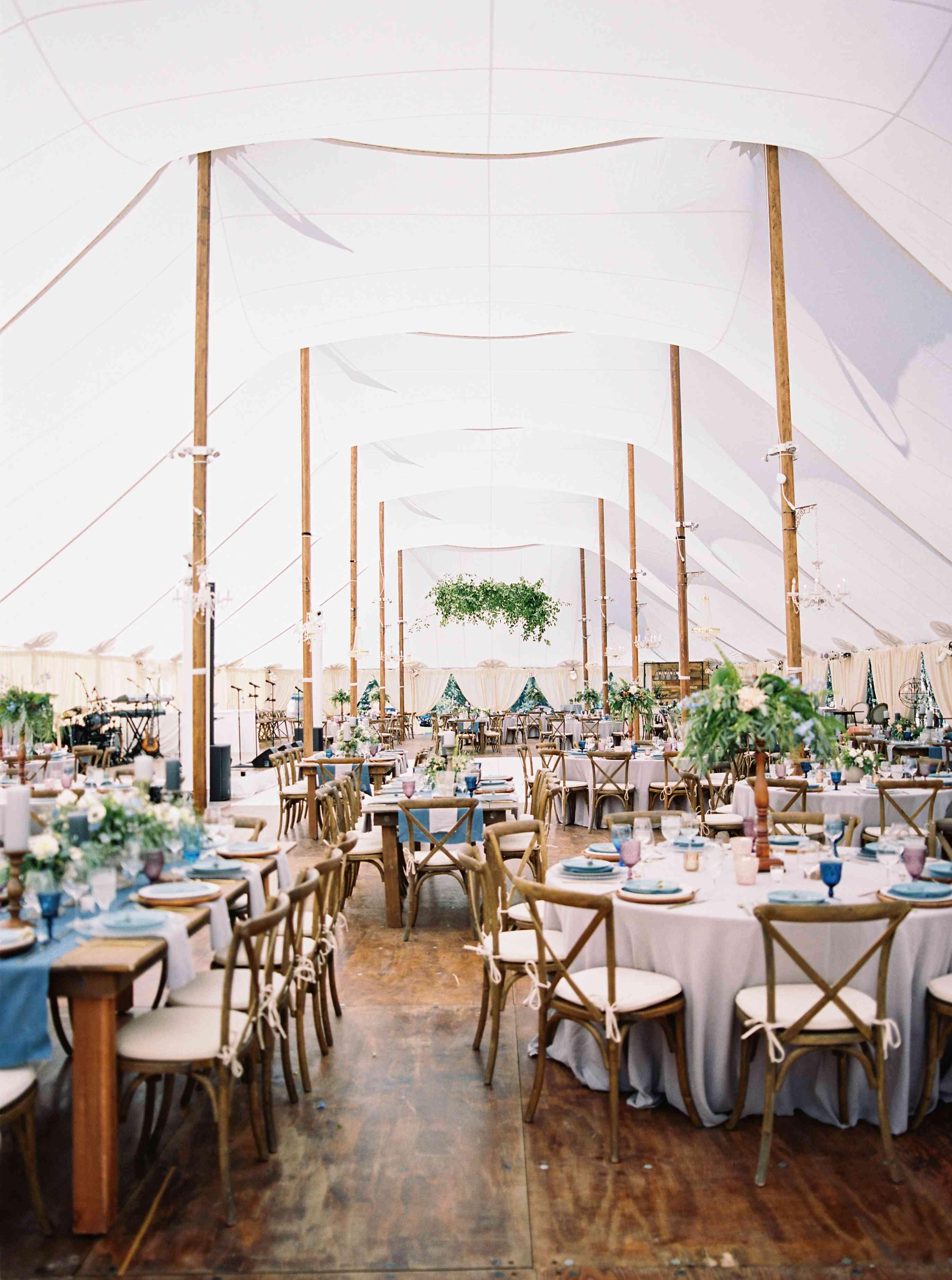 Sailcloth Reception Tent