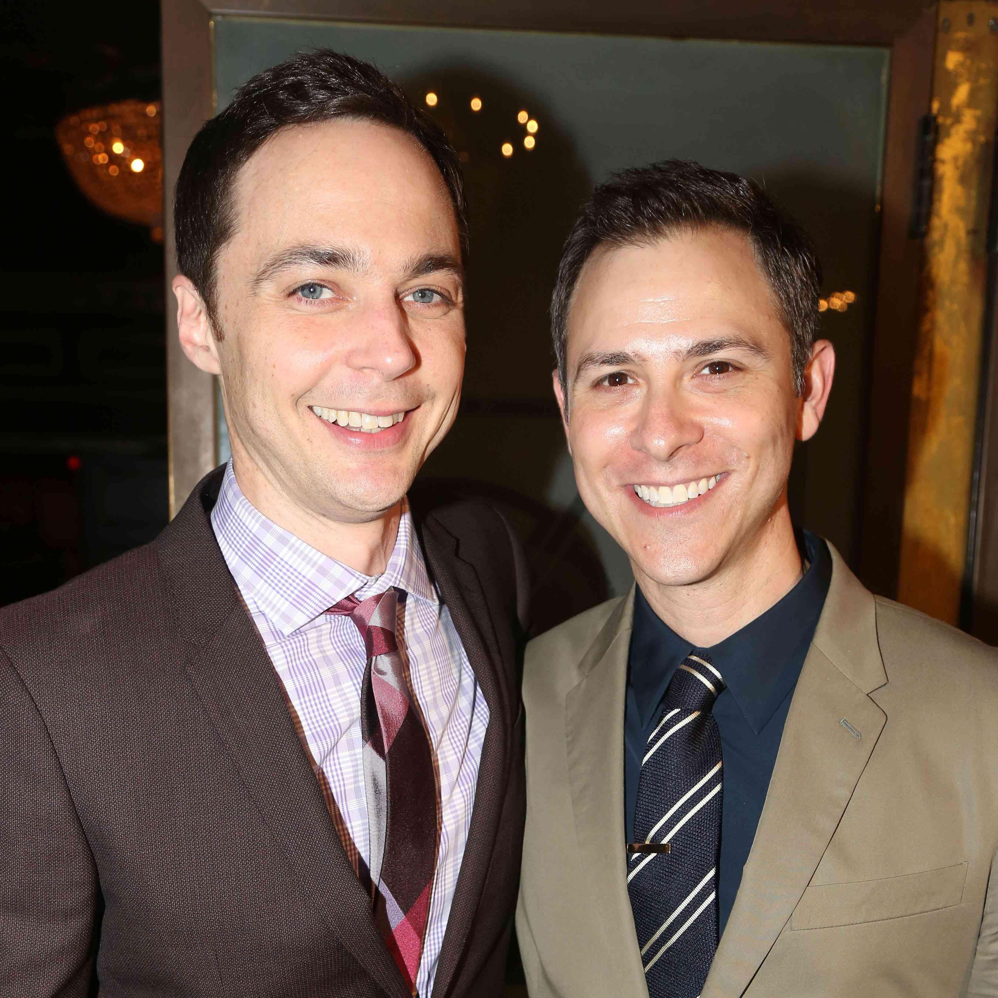 Jim Parsons Wedding: Jim Parsons Just Married Longtime Boyfriend Todd Spiewak