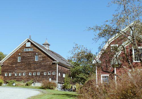 <p>Barn venue</p>