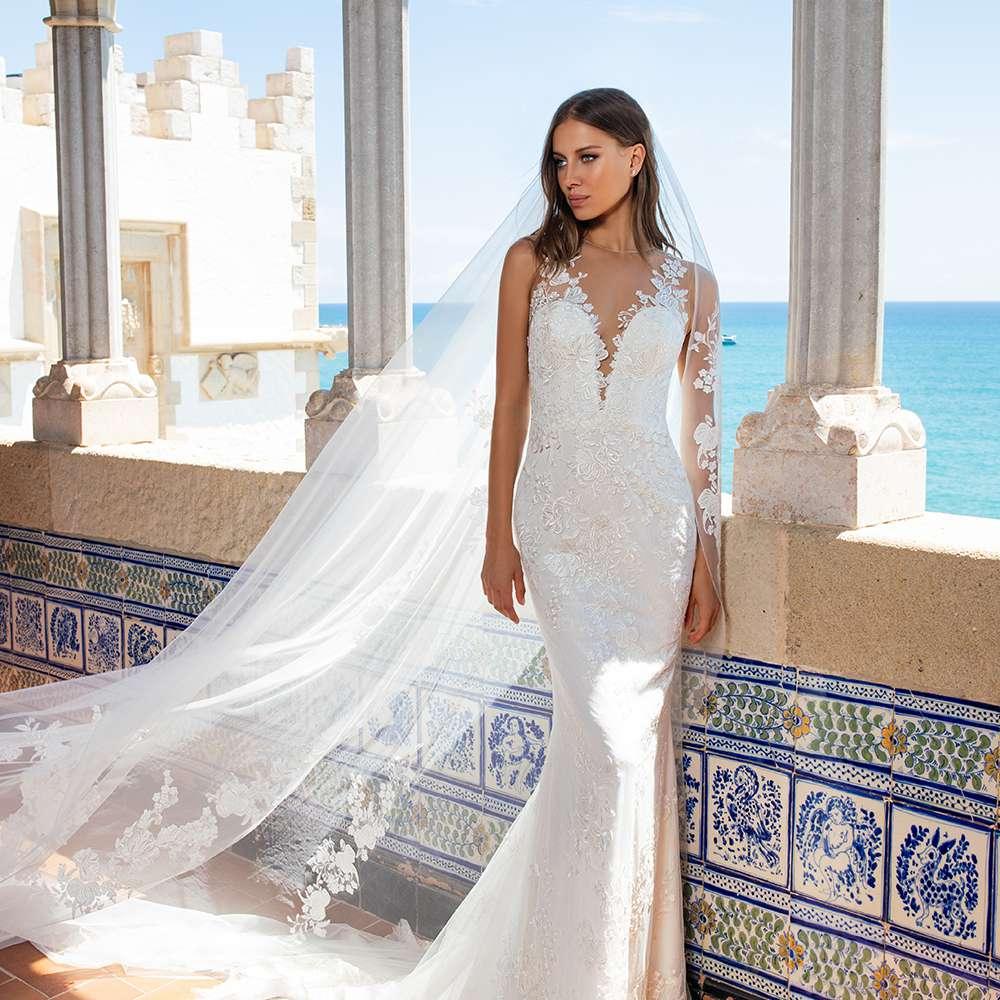 Pronovias X Kleinfeld Bridal Wedding Dress Collection Fall 2020