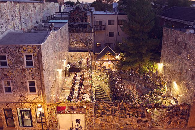 5 Beautiful Outdoor Wedding Venues In Philly