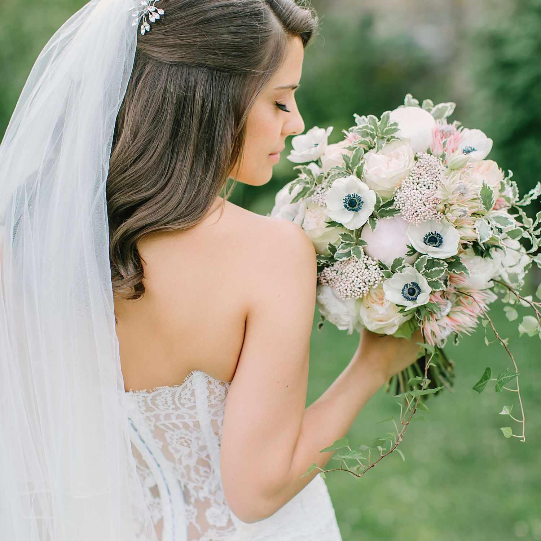 49 Gorgeous Half-Up, Half-Down Wedding Hairstyles
