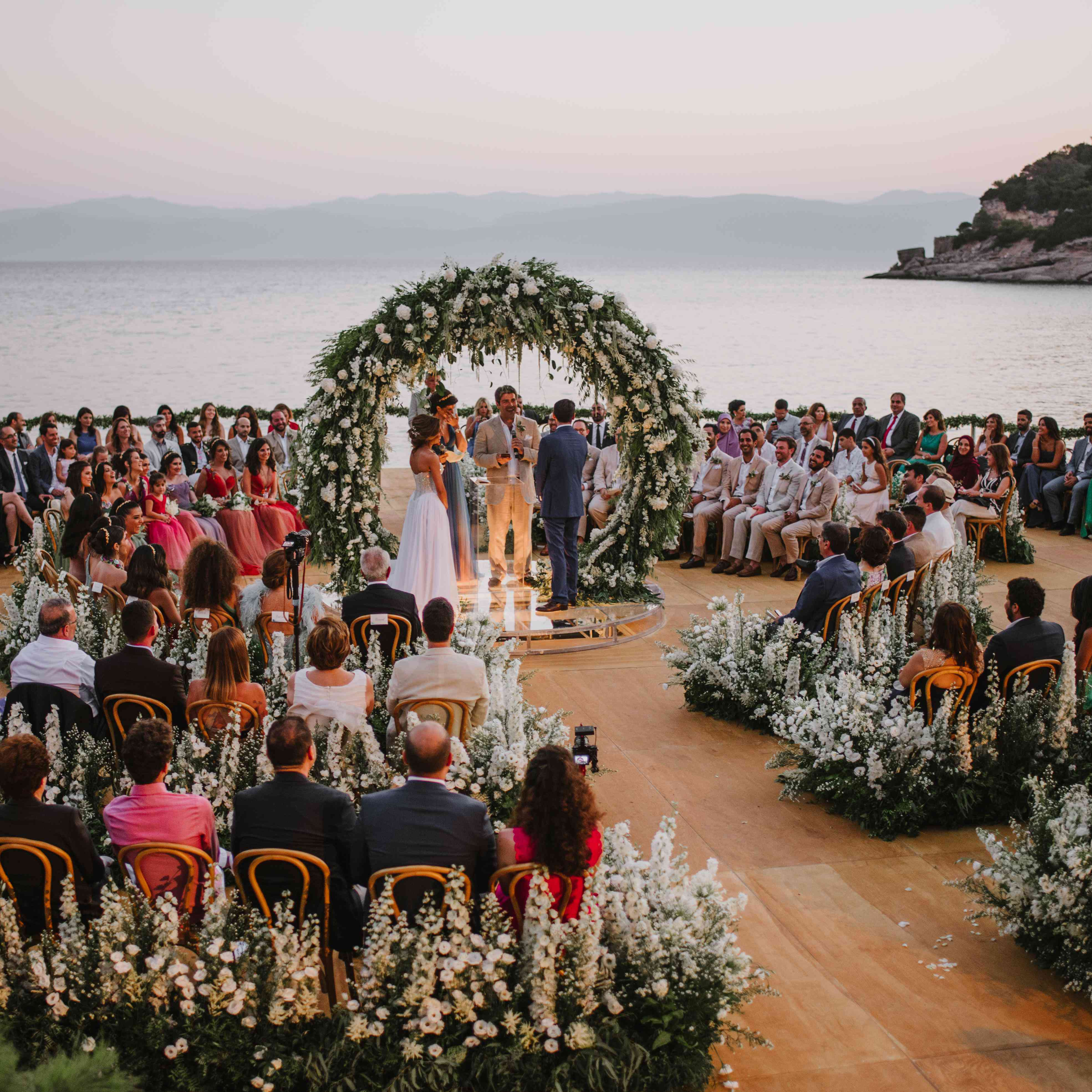 Real Greek Weddings: One Couple's Two Over-the-Top Weddings In Greece And Lebanon