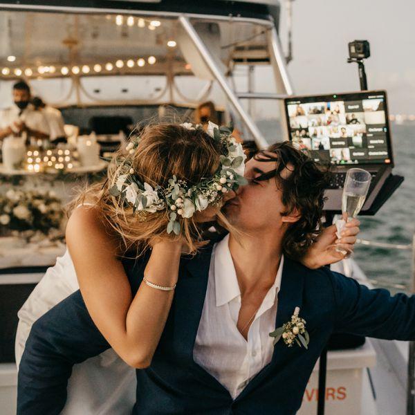 virtual wedding toasts
