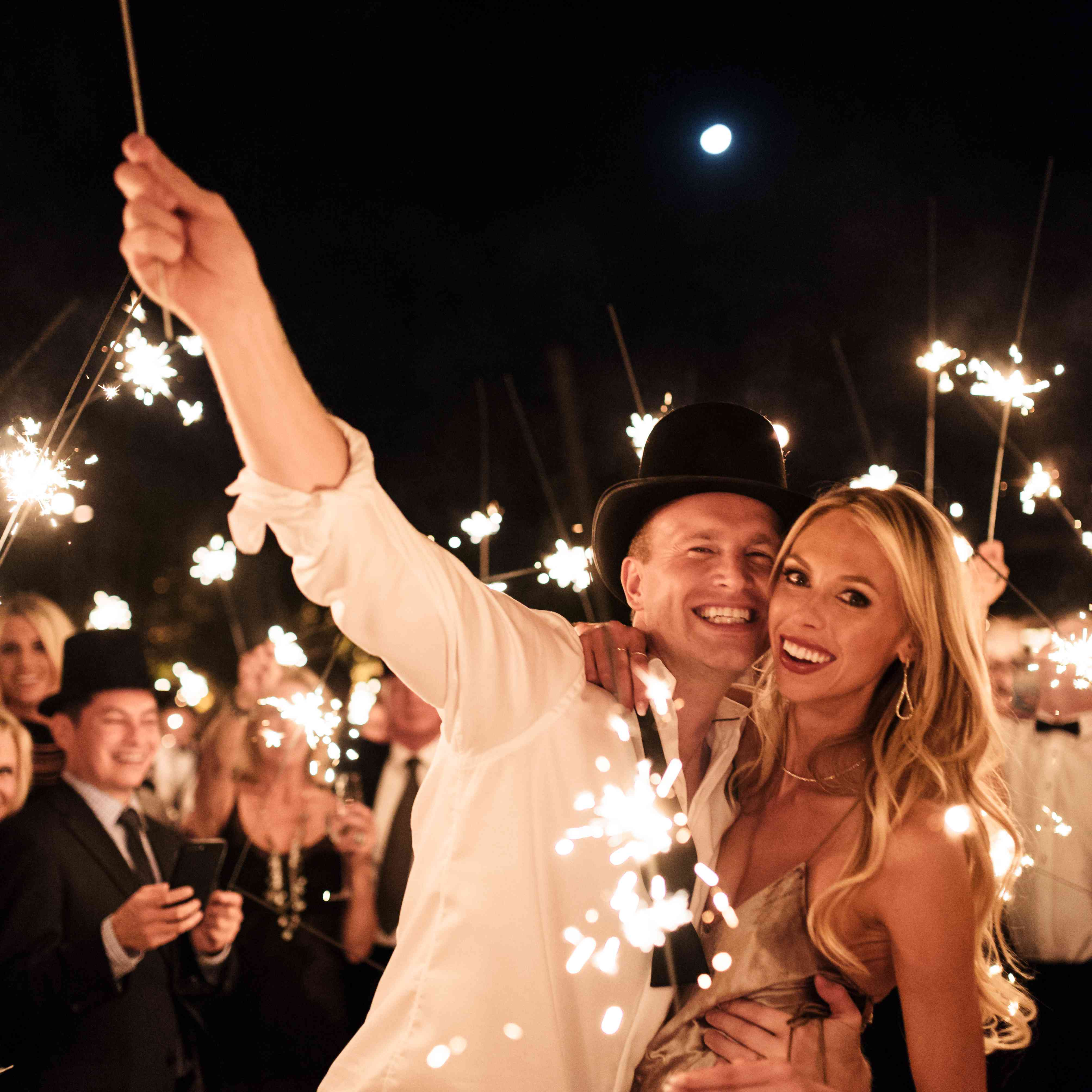 <p>reception sparklers</p><br><br>