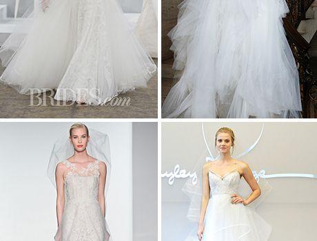 43 Fresh Takes On The Tulle Wedding Dress