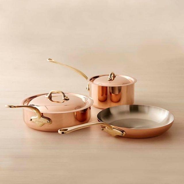 Maurivel Copper 5-Piece Cookware Set