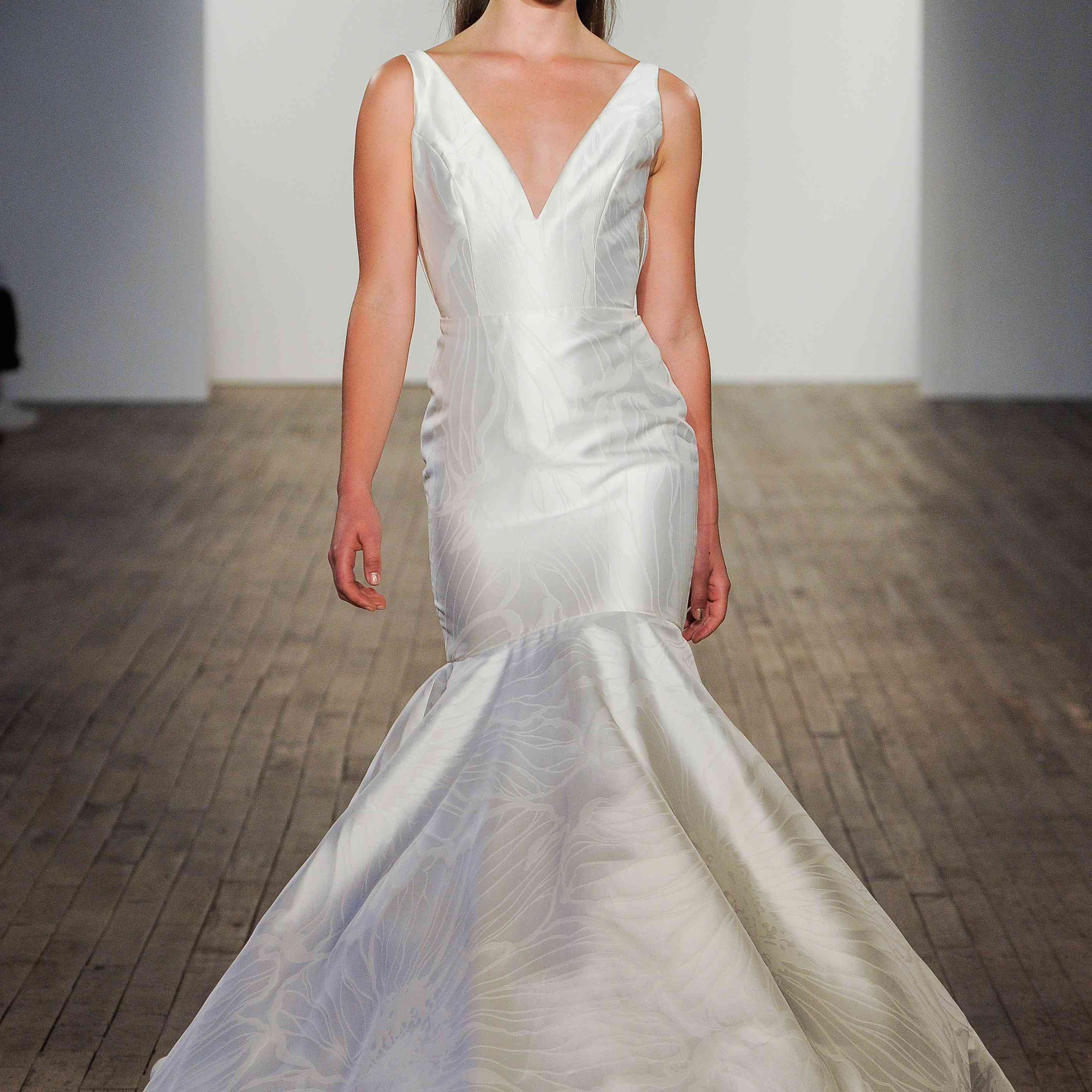 Audrey mermaid wedding dress