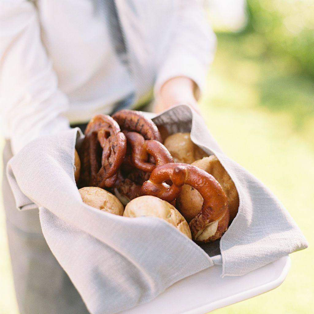 pretzels and buns
