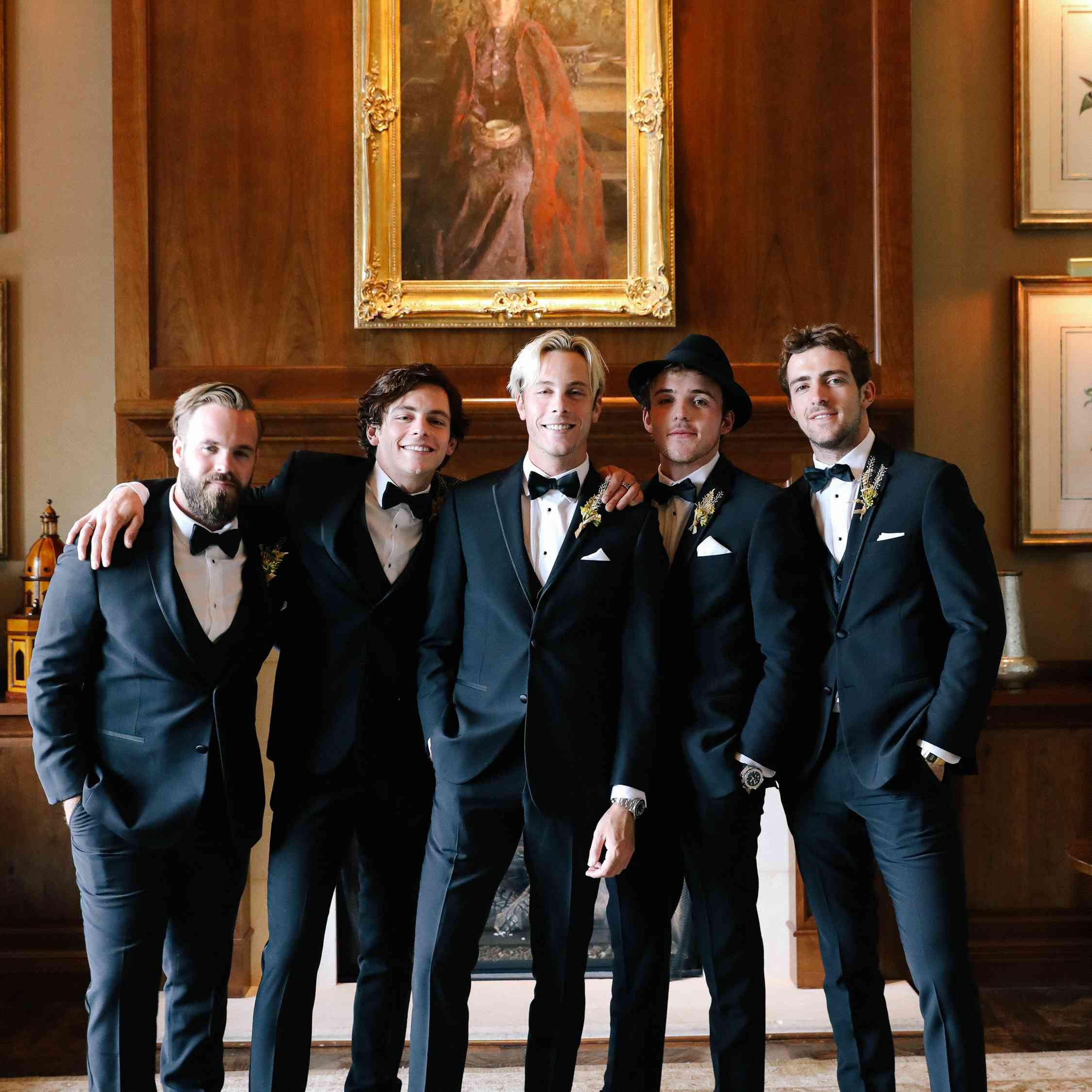savannah and riker wedding, groomsmen