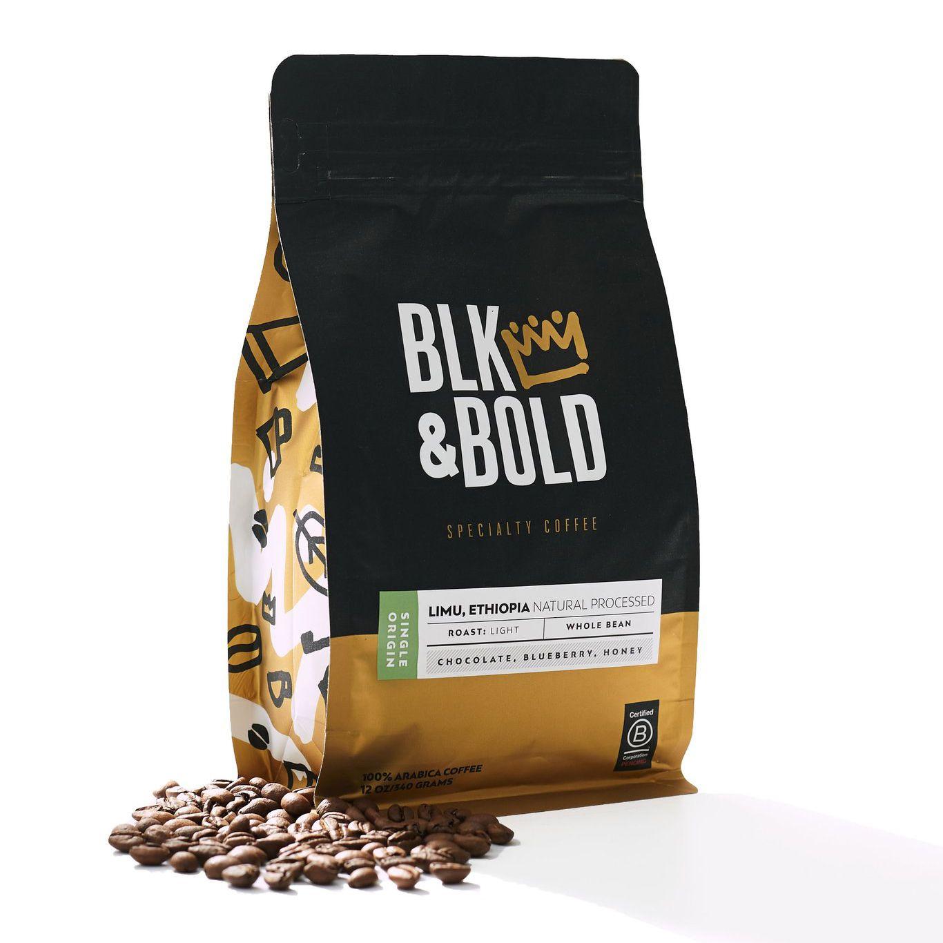 Blk & Bold Limu, Ethiopia - Single Origin, Light Roast