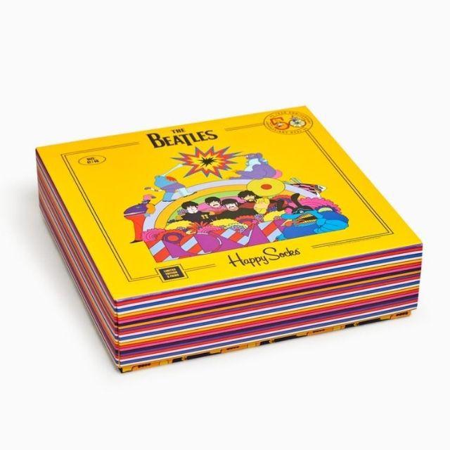 Happy Socks The Beatles Socks 3-Pack Box Set