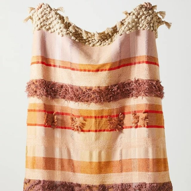 All Roads Textured Marfa Throw Blanket