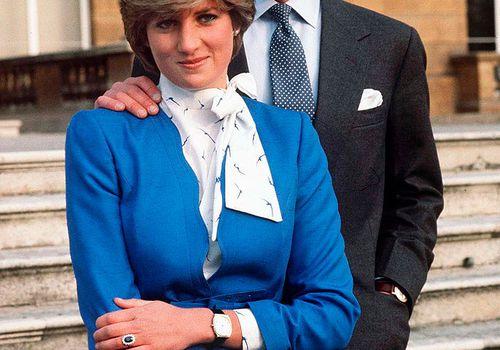 Princess Diana engagement photo