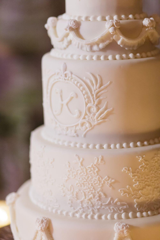 <p>White wedding cake</p><br><br>