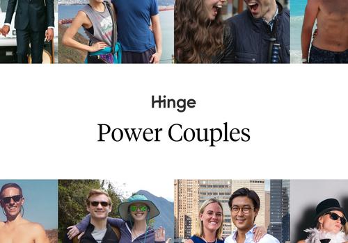 Eight couples who met on Hinge