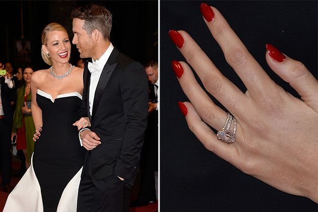 Blake Lively Wedding Ring.Blake Lively Lauren Conrad And More Celebrities Who Rock Rose Gold